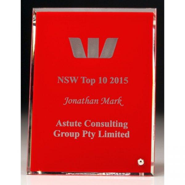 DP61, DP62, DP63 Red Glass Award