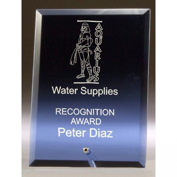 DY51B Blue Glass Award